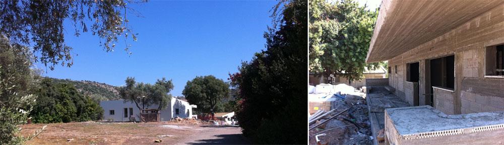 כפר איילים בכרמיאל. יגורו כאן סטודנטים, כחלק מהניסיון לעורר לחיים אזור מוזנח בעיר הצפונית (צילום: זרתא סטודיו)