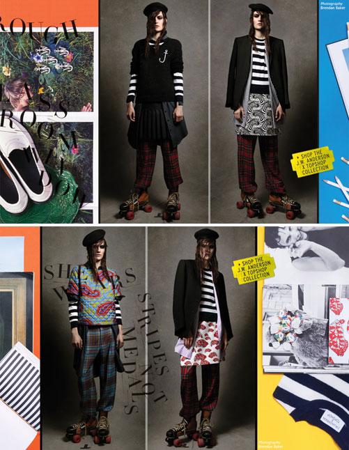 קולקציית הקפסולה של J.W. Anderson לרשת האופנה הבריטית טופשופ. תור מחוץ לחנות בלונדון (צילום: ברנדן בייקר)