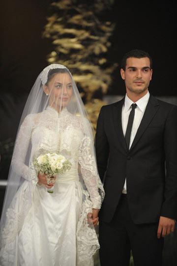 """""""התחתנתי עם מישהו שהתאהבתי בו מעל הראש"""". עם מתן כהן (צילום: ניר פקין)"""