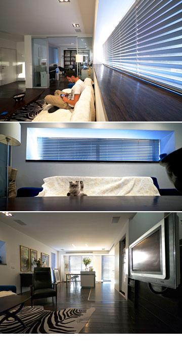 ''גיל ואני היינו שותפים מלאים בתהליך עיצוב הבית'' (צילום: איתי סיקולסקי )