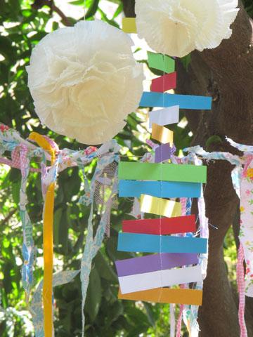 מובייל מגזרות נייר (צילום: ליבת רות)