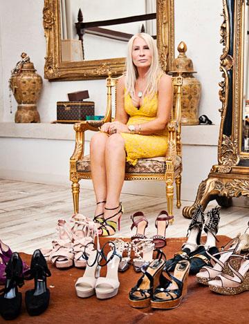 כמה מן הנעליים של סמדר. אוסף פרטי (צילום: אלה אוזן)