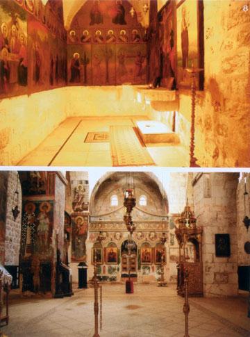 לפי המסורת, כאן צמח העץ שממנו הוכן הצלב של ישו. מנזר המצלבה (צילום: עידית שכטר-פייל)
