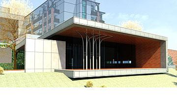 מלון בקרית ענבים, בתכנון גיא איגרא (באדיבות אדריכל גיא איגרא)