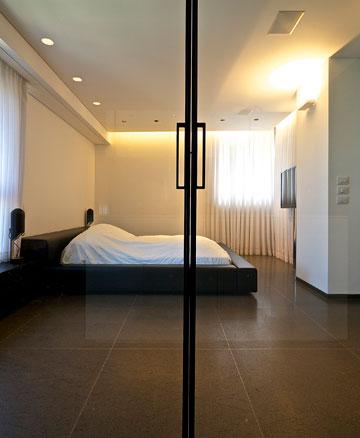 ''חדר השינה הוא סוג של מרחב משפחתי'' (צילום: איתי סיקולסקי)