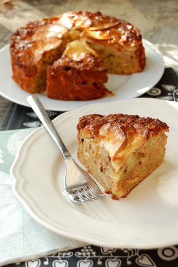עוגת תפוחים נורבגית (צילום: Rosa Mayland)
