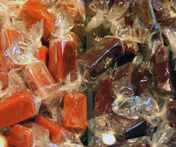 סוכריות קרמל של ז'ק ז'נין (צילום: שרון היינריך)