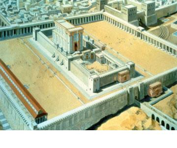 זה היה הגדול והמפואר מבין מבני הדת שקדמו לו בישראל - וכנראה שעד היום (באדיבות מכון המקדש)
