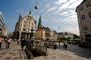 האזור הנקי ממכוניות בקופנהגן. כמה שנים עד שישראל תבין את הרמז? (צילום: olgite, cc)