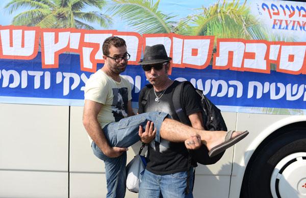 בצל התחממות היחסים בין ישראל לטורקיה. סלוצקי ודומינגז באנטליה (צילום: מיכאל טומרקין)