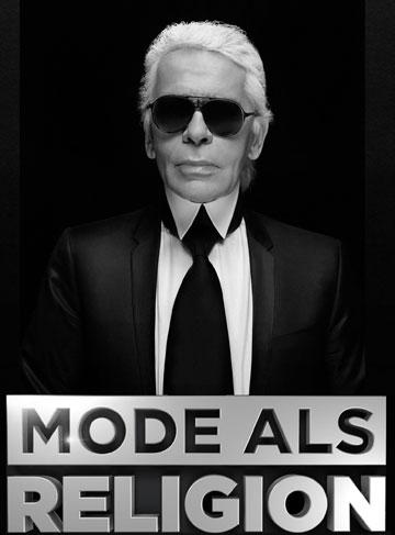 """כרזת הסרט """"קרל לגרפלד – אופנה כדת"""". אישיותו הפרובוקטיבית של לגרפלד נחשפת בין פריים לפריים (צילום: VOX/Karl Lagerfeld)"""