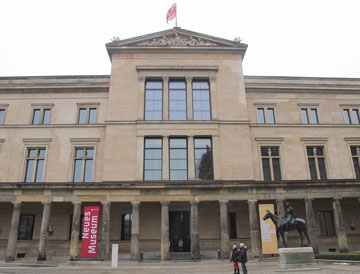 המוזיאון החדש בברלין. בלי למחוק (צילום: מיכאל יעקובסון)