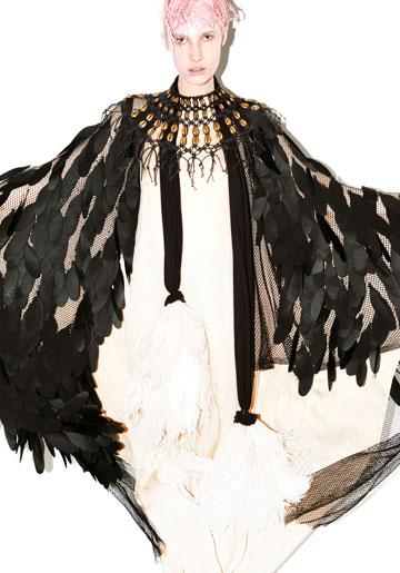 הקולקציה שהציגה טרגן בשבוע האופנה TLV (צילום: גולי כהן)