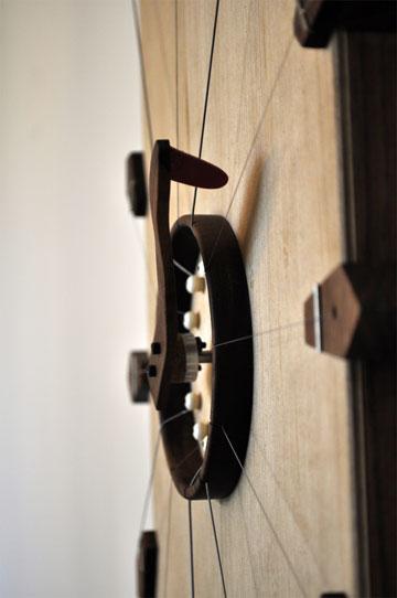 מכוונים את השעה עם מפתח (צילום: איתי מורג)