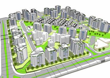 ח-370. שכונות ענק חדשות (תכנית: באדיבות עיריית חולון, קייזר קייזר לקנר אדריכלים )