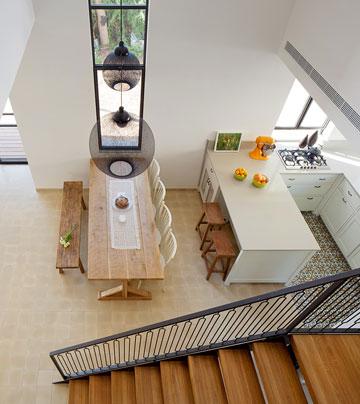 המראה מרום המדרגות (צילום: אלעד שריג)