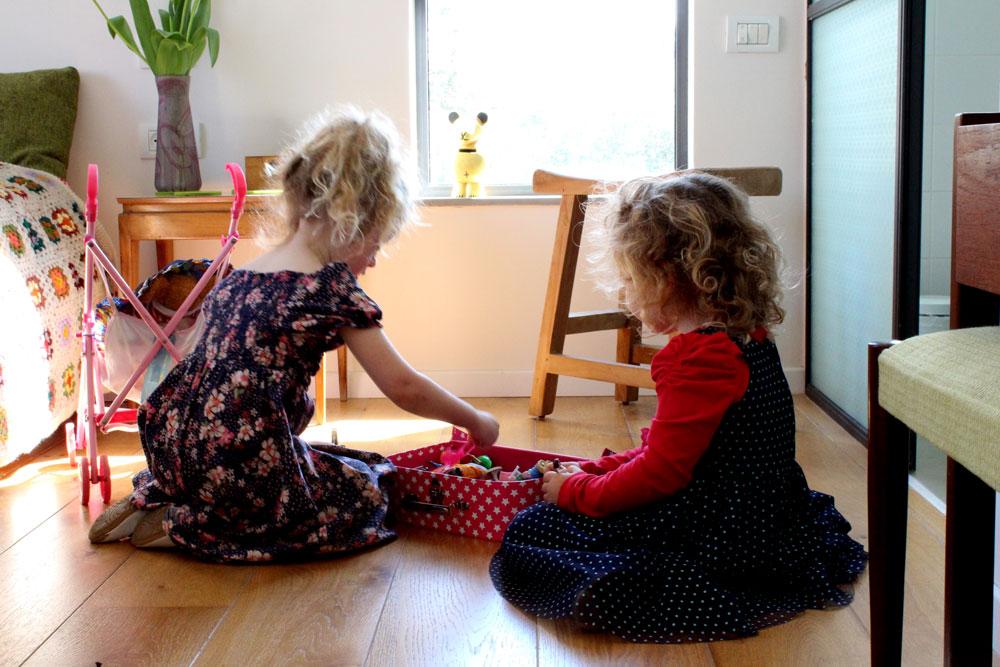 בחדר ההורים (צילום: קרן אבני)