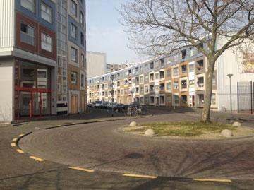 פרויקט פייפרקליפ ברוטרדם. הדיירים התביישו לגור כאן (צילום: נעמה ריבה)