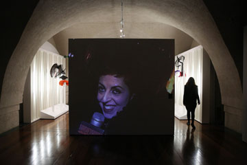 תערוכה לזכרה של איזבלה בלאו, 2013 (צילום: gettyimages)