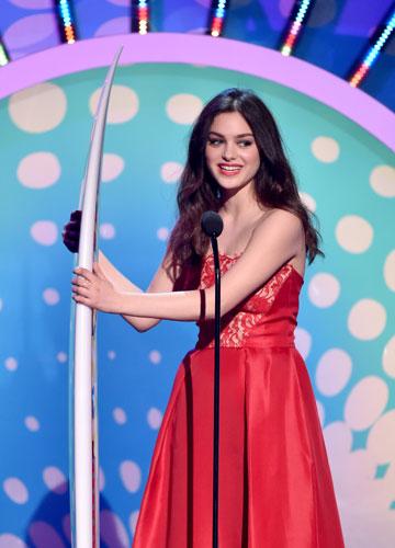הפריצה של השנה. רש בטקס פרסי Teen Choice (צילום: gettyimages)