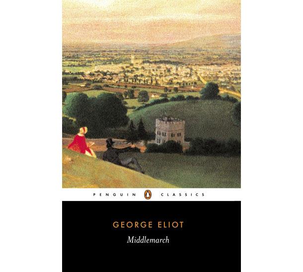"""עטיפת """"מידלמארץ'"""", מספריה המפורסמים ביותר"""