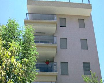 הבניין שבו נמצאת הדירה של אילנית ואלירז