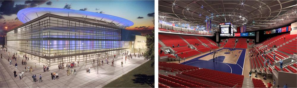 ההדמיה של התוצאה הסופית, שאמורה להיחנך בסוף 2014, מבפנים ומבחוץ (תכנון: גולדשמידט ארדיטי בן נעים אדריכלים)