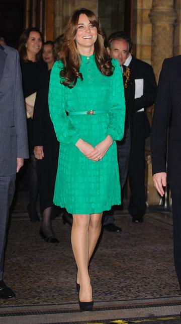 מידלטון, נובמבר 2012: שמלה קלילה וצעירה (צילום: gettyimages)