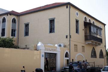 הבית הישן שמאכלס את ''סטודיו אנקורי'' ביפו (צילום: דרור סיתהכל)