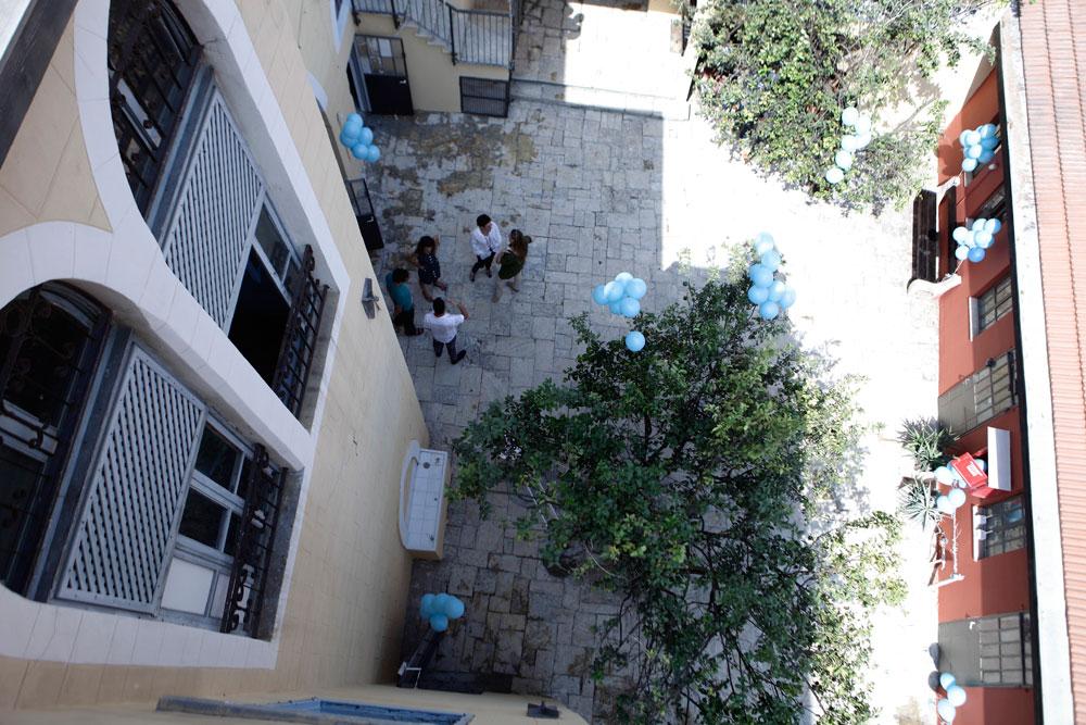בית באר ערבי שהפך לבית יוצר לאמנים. סטודיו אנקורי ביפו עבר שיפוץ קטן עם הבדל גדול (צילום: דרור סיתהכל)