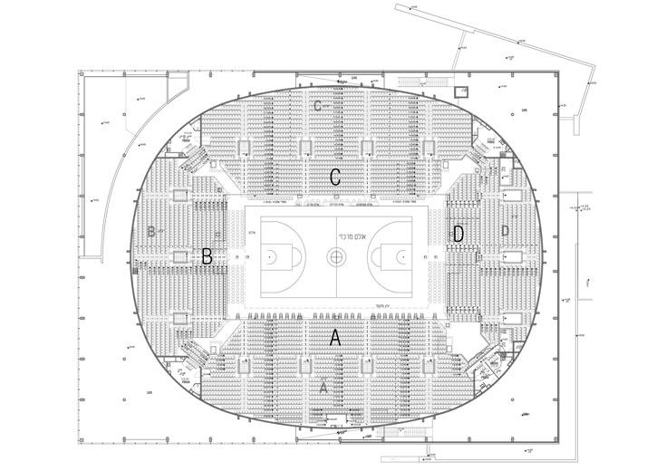 תוכנית הארנה של חולון (תכנון: גולדשמידט ארדיטי בן נעים אדריכלים)