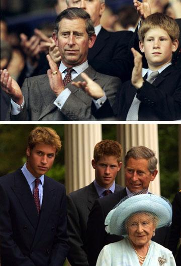 התחיל בתור ברווזון מכוער. הנסיך הארי בילדותו (צילום: gettyimages)