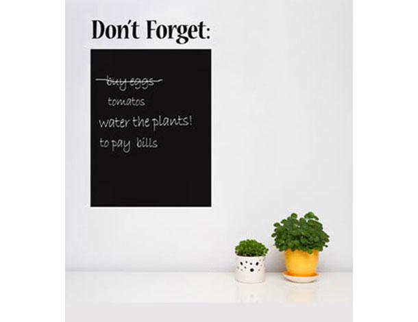 אל תשכחו! לוח ממו מחיק