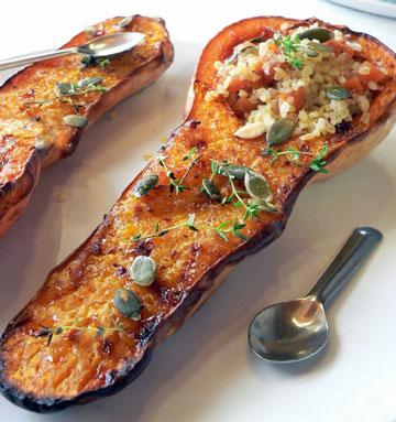 דלורית בתנור במילוי בורגול  (צילום: מרילין איילון)