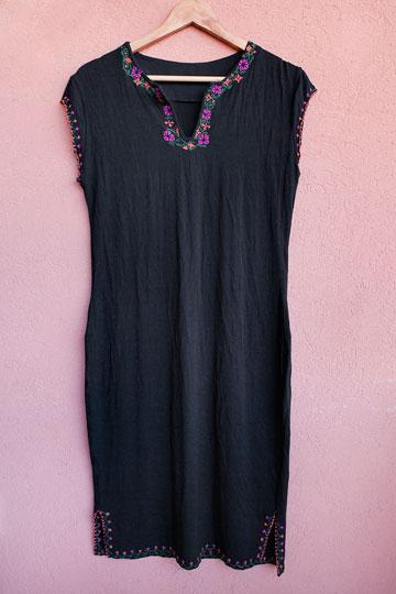 שמלה בעיצובה של בלינדר (צילום: ענבל מרמרי)