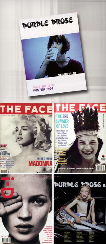 סוכני התיווך של האופנה ברחבי העולם: המגזינים The Face ,i-D ו-Purple