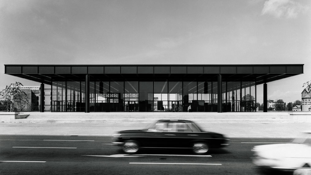 Archiv Neue Nationalgalerie, photo: Reinhard Friedrich