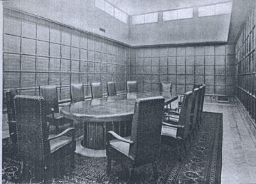 תכנון המשרדים החל במעטפת והסתיים בחדרי הישיבות (באדיבות אא''י)