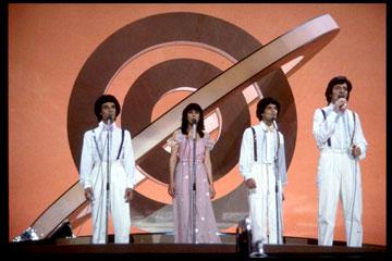 בנייני האומה, מארס 1979: ישראל מארחת את האירוויזיון וזוכה במקום הראשון (צילום: משה מילנר, לע''מ)