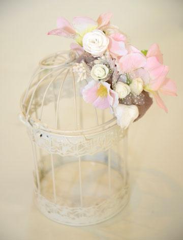 כלוב פרחים (צילום: מאיה לוי)