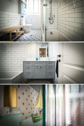 מעצבת הפנים נועה לוי תובל סייעה בשינויים הטכניים בחדר האמבטיה ובמטבח (צילום: איתי סיקולסקי)