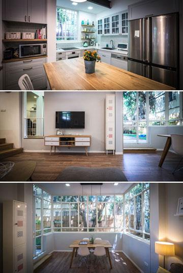"""""""עיצבתי את הבית בעצמי. לא עשינו שינויים מבניים בשלד של הדירה, כך שלא היה לי צורך באדריכל"""" (צילום: איתי סיקולסקי)"""