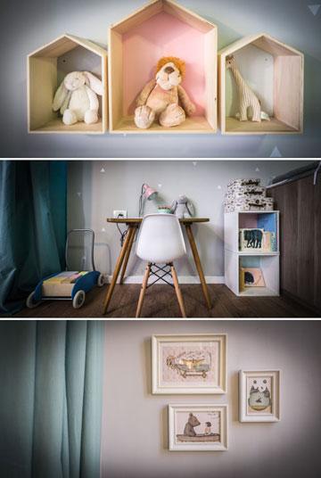 """חדר הילדים. """"חדר שכיף להיות בו, לבלות בו, לשחק בו, וכשמגיעים חברים עם ילדים כולם יכולים להיות בו יחד"""" (צילום: איתי סיקולסקי)"""