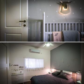 """""""החדר של לילי גדול פי שניים מחדר ההורים"""" (צילום: איתי סיקולסקי)"""