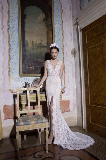 אלון ליבנה. מכירת שמלות כלה בסטודיו של מעצב האופנה (צילום :דודי חסון)