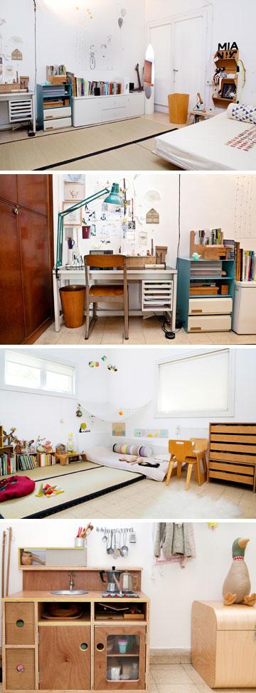 """""""בחדר של מיא יש אנרגיות מדהימות. השינה הכי משמעותיות שלנו היא אצלה בחדר"""" (צילום: ענבל מרמרי)"""