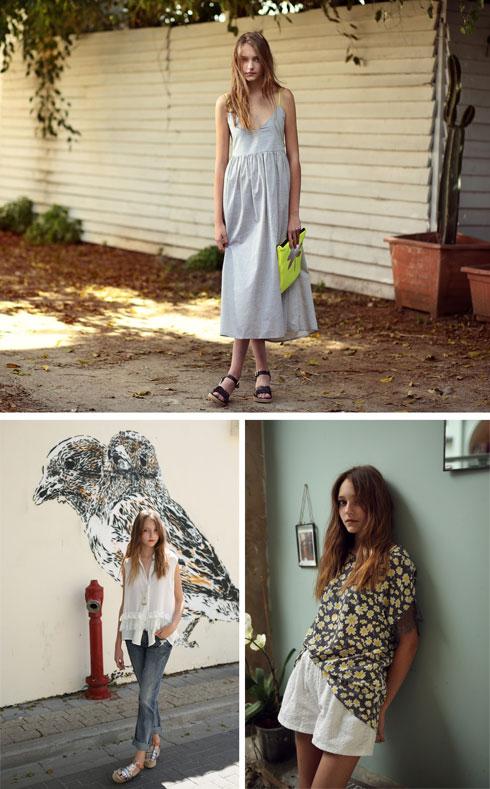 """""""אני נוהגת לשלב ולערבב את מה שאני אוהבת באופנה ובעיצוב פנים"""". הקולקציה שעיצבה ג'וליארד לבוטיק נומרו 13 (צילום: איל נבו )"""
