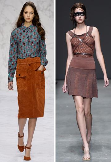 נציגת ישראל בשבוע האופנה בלונדון. מעיין גרינשפון מדגמנת בתצוגות של ויויאן ווסטווד ו-Daks  (צילום: gettyimages)