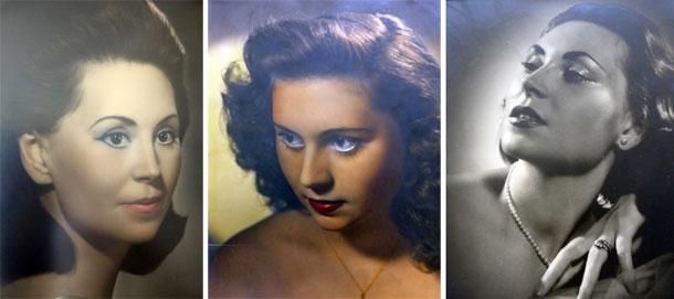 היא נולדה ביאסי ב-1929, למדה, נישאה וחיה את רוב חייה בפריז. אורורה בצעירותה (צילום: אילנה אפרתי)