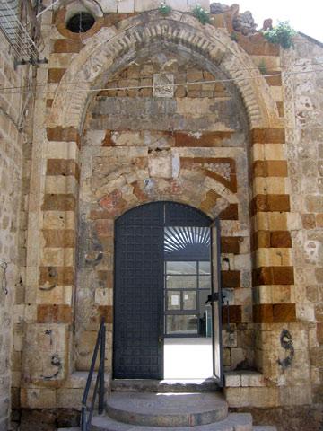הכניסה לסראיה. העיר העתיקה היא אתר מורשת עולמית (צילום: דני ארמה)